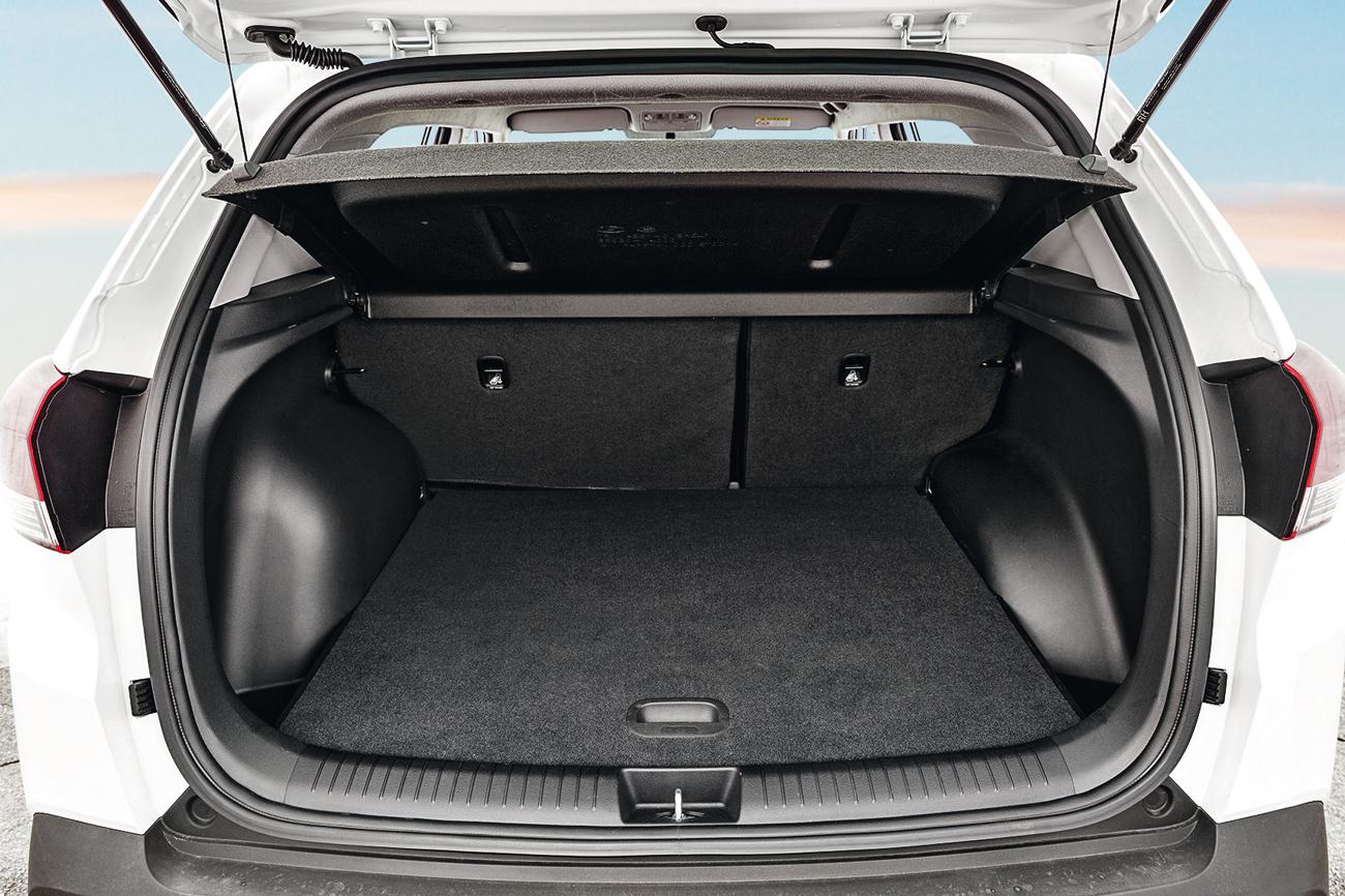 Porta-malas carrega até 431 litros de bagagem