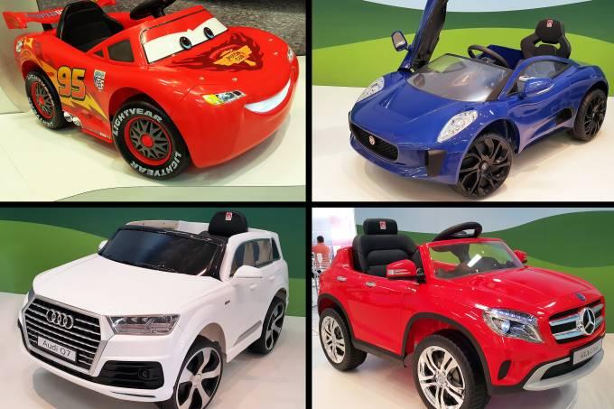 Novos modelos de carrinhos elétricos