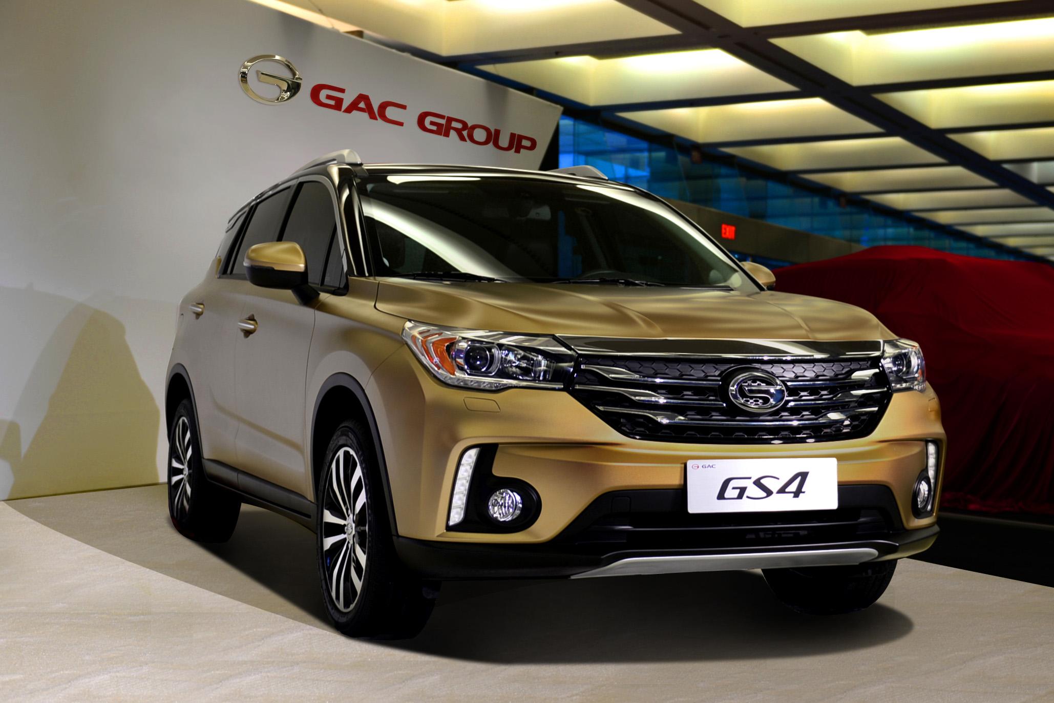 O SUV GS4, um dos lançamentos recentes da GAC Motors