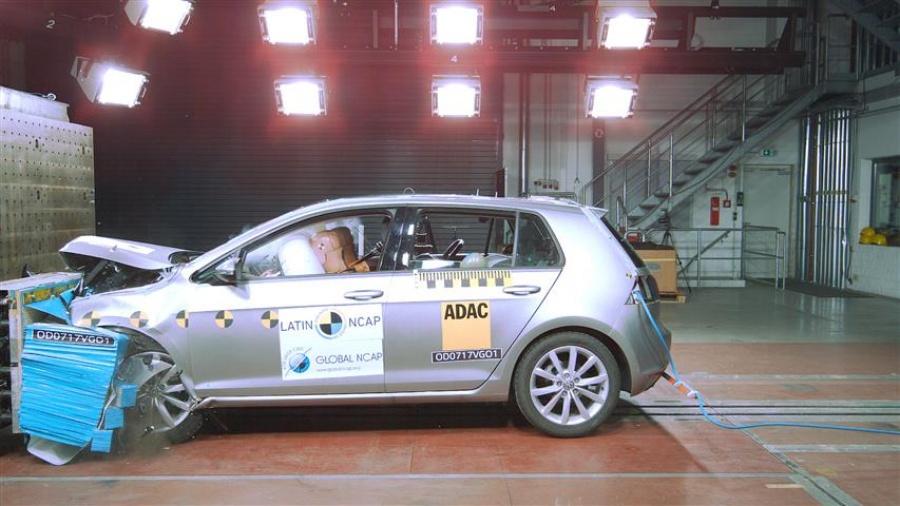 golf - crash test Latin NCAP