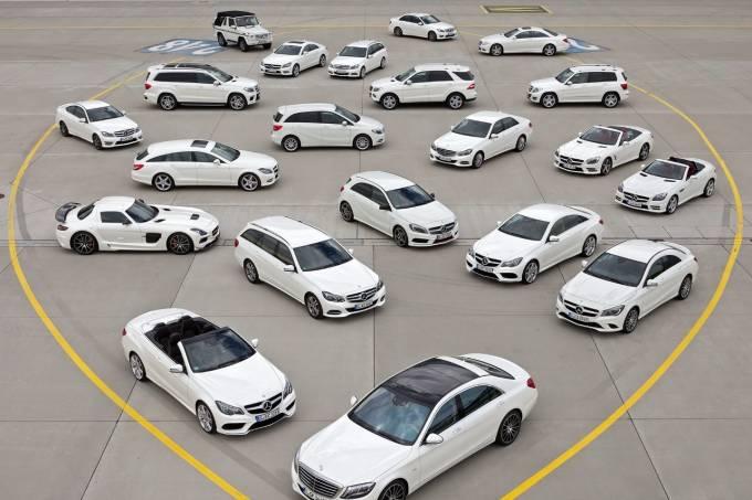 Modelos da Mercedes-Benz