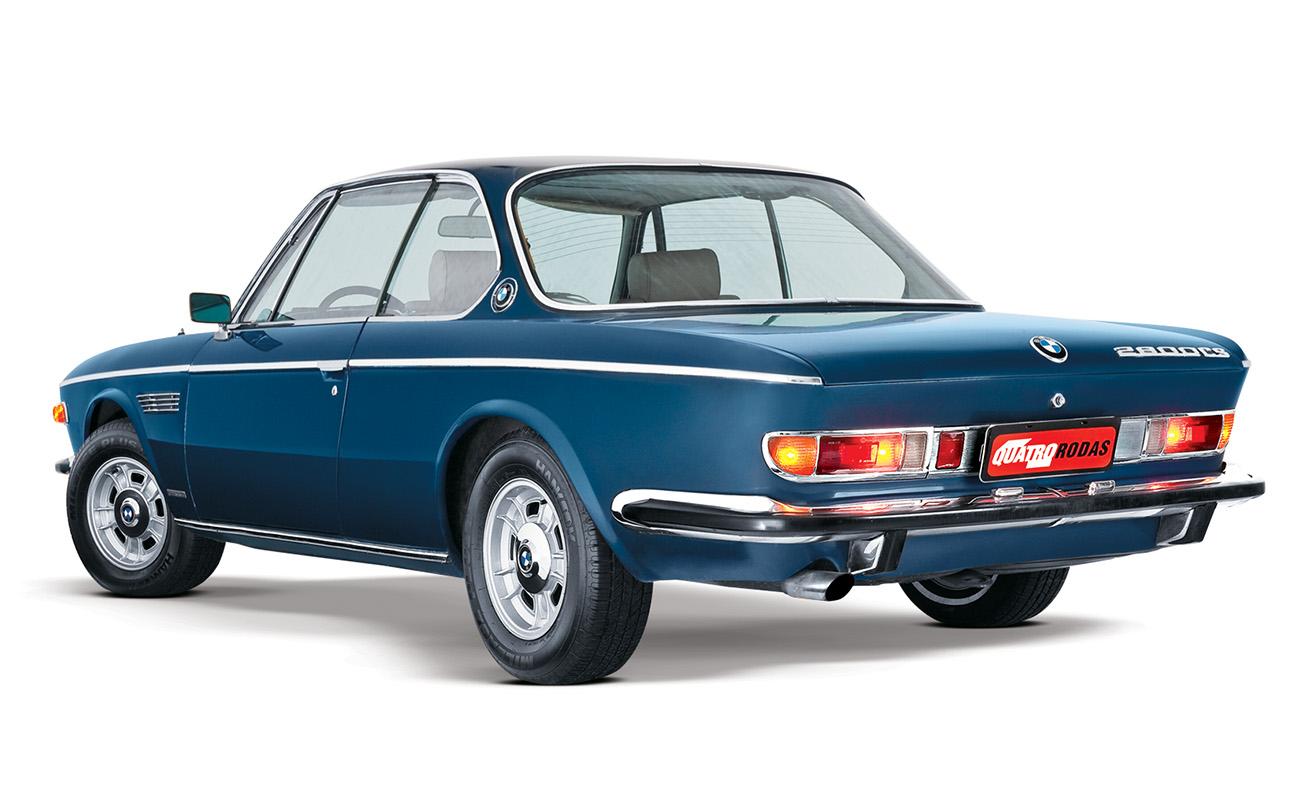 O BMW 2800CS encantava pelo motor 2.8 de 170 cv