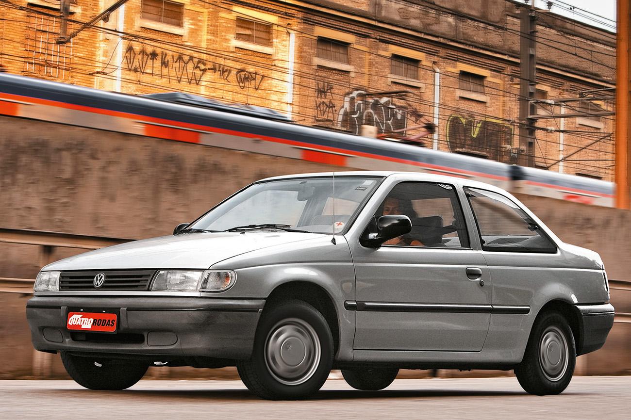 1993: Logus, um projeto da Autolatina derivado do Ford Escort