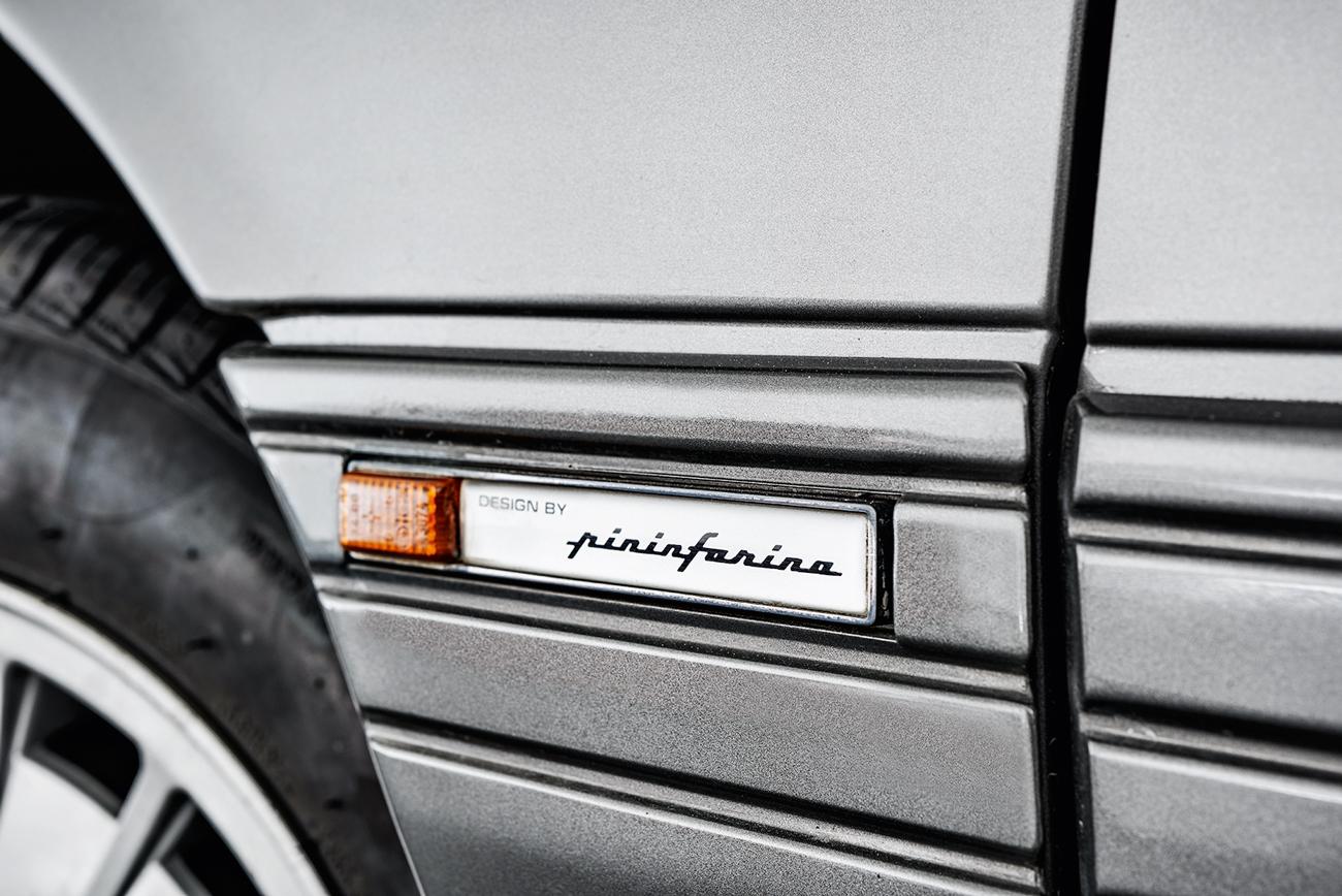 Design externo e interno era assinado pelo estúdio Pininfarina
