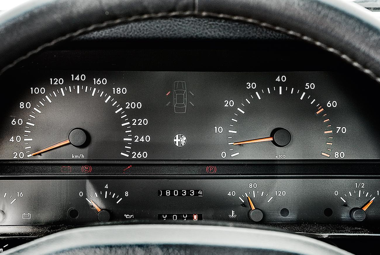 Com motor V6, o sedã chegava aos 230 km/h