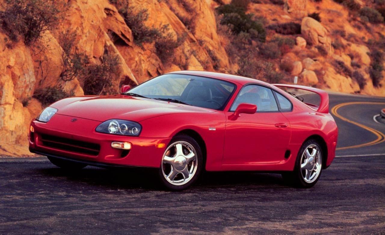 O Toyota Supra é um dos ícones dos anos 90