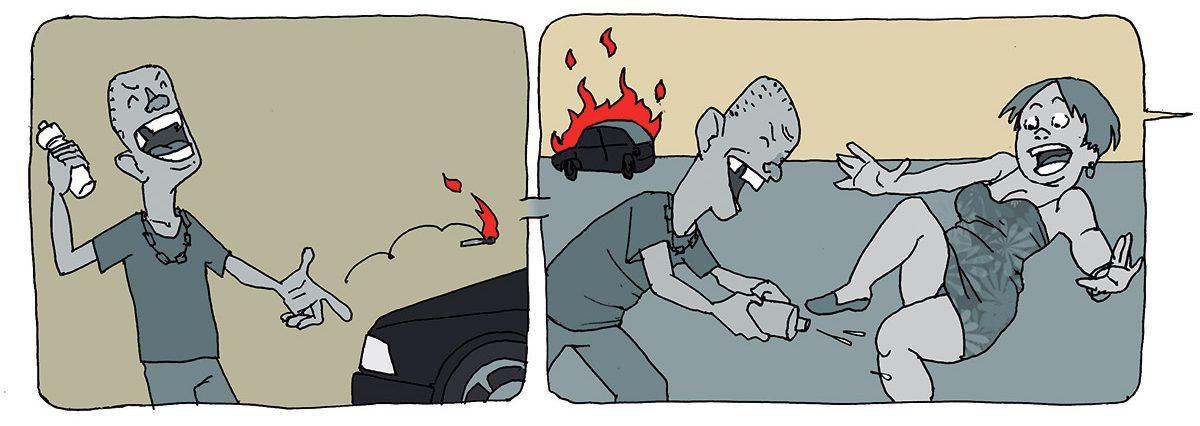 Golpes contra seguradoras