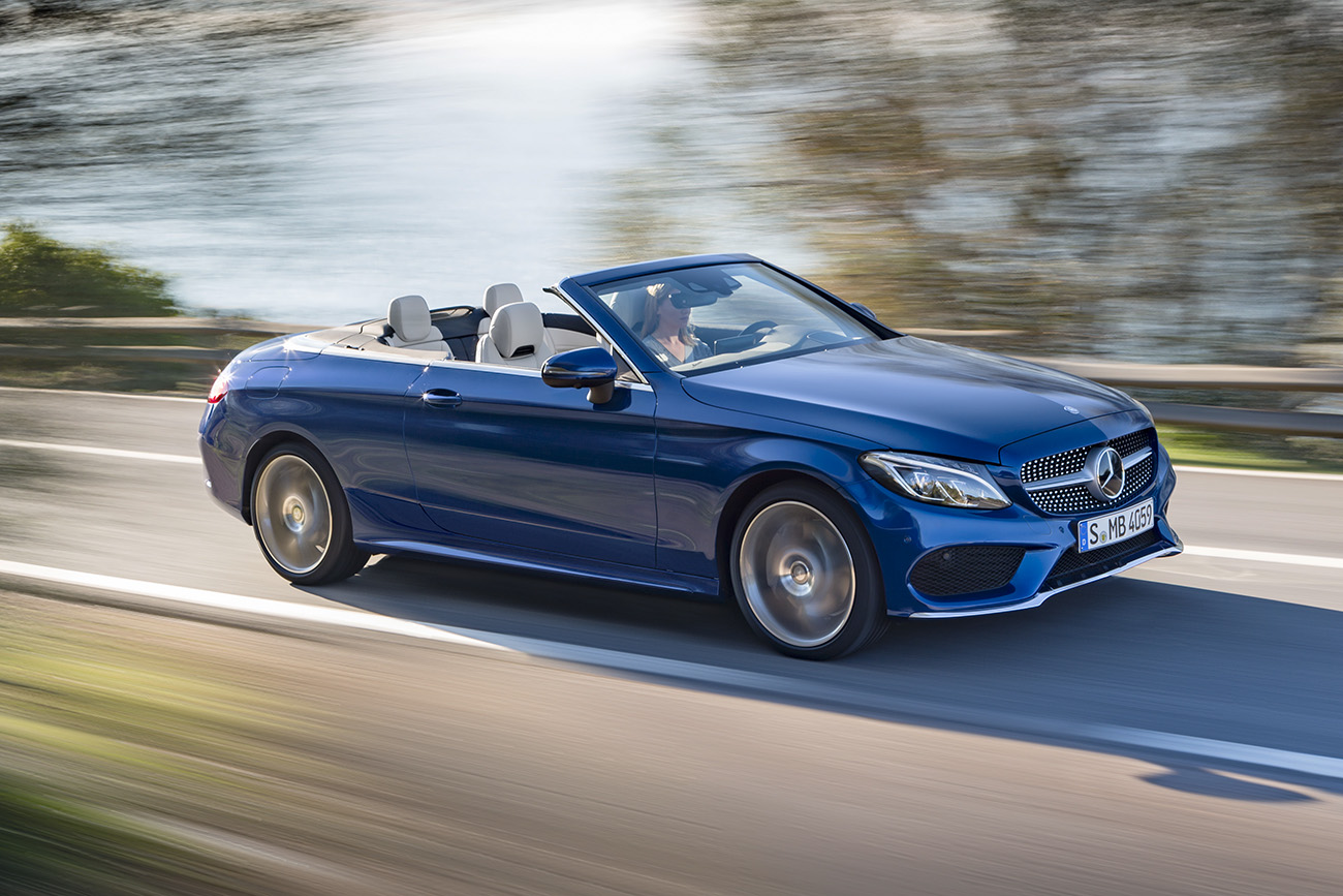 Mercedes Benz C 300 Cabriolet Como Uma Estrela Deve Ser Quatro Rodas