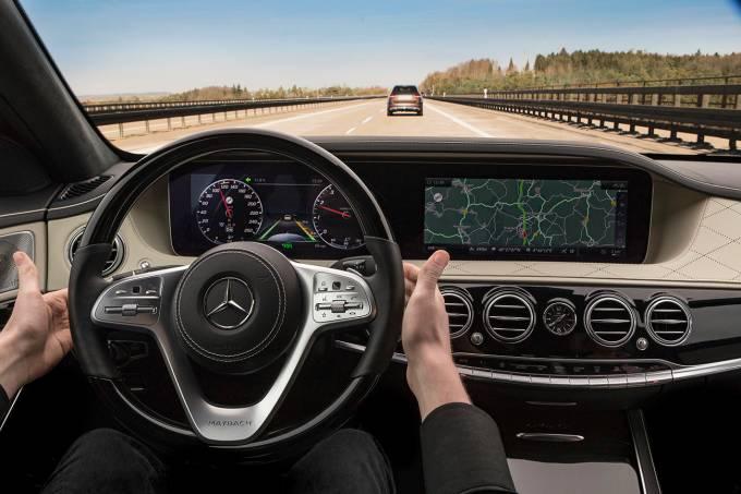 Mercedes-Benz Intelligent Drive in der neuen S-KlasseMercedes Classe S