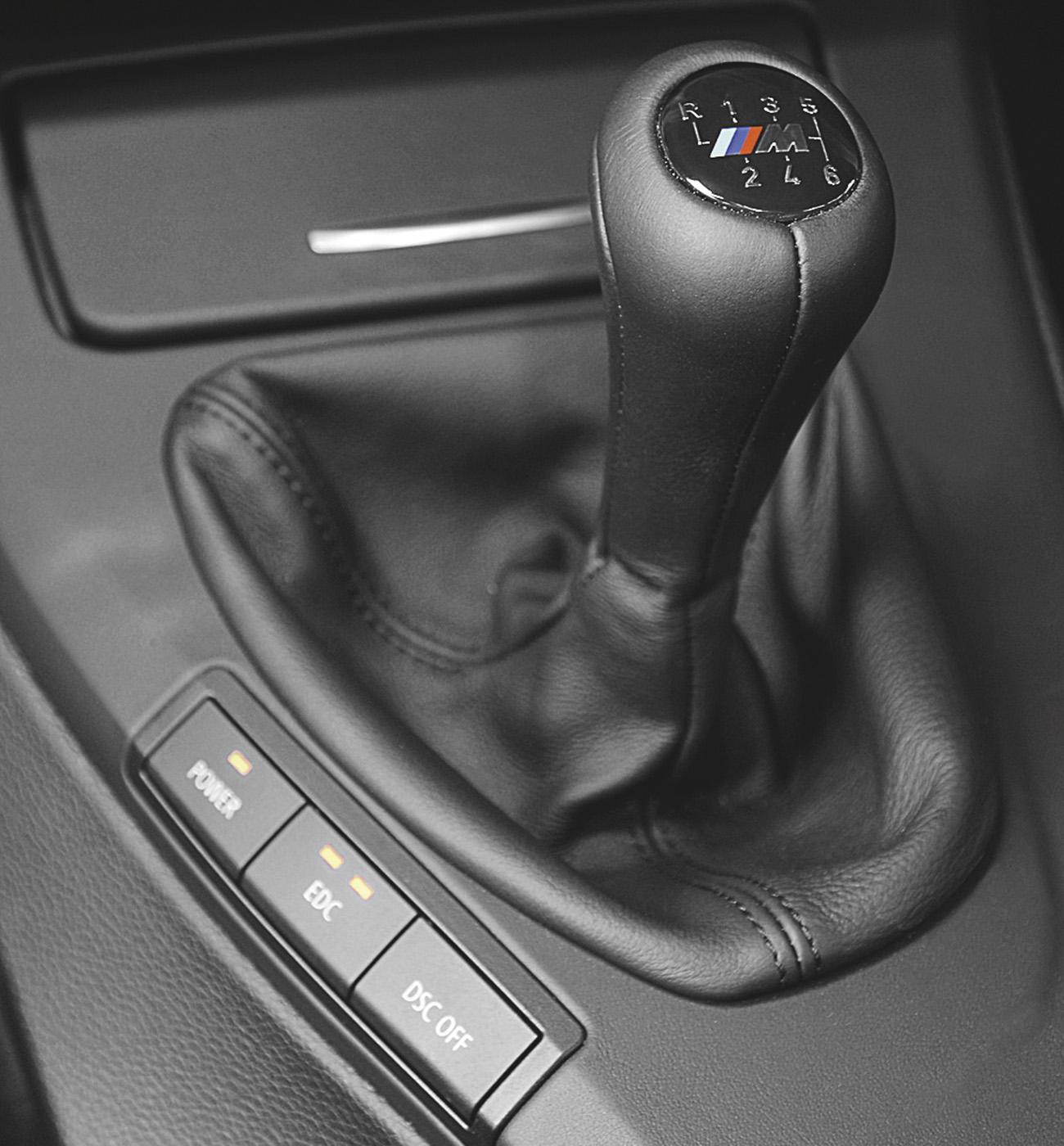 Câmbio manual de um M3: dias contados?