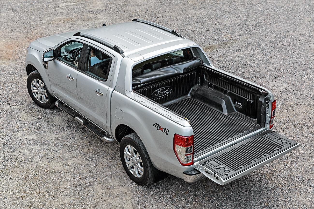 A Ranger transporta até 1.180 litros