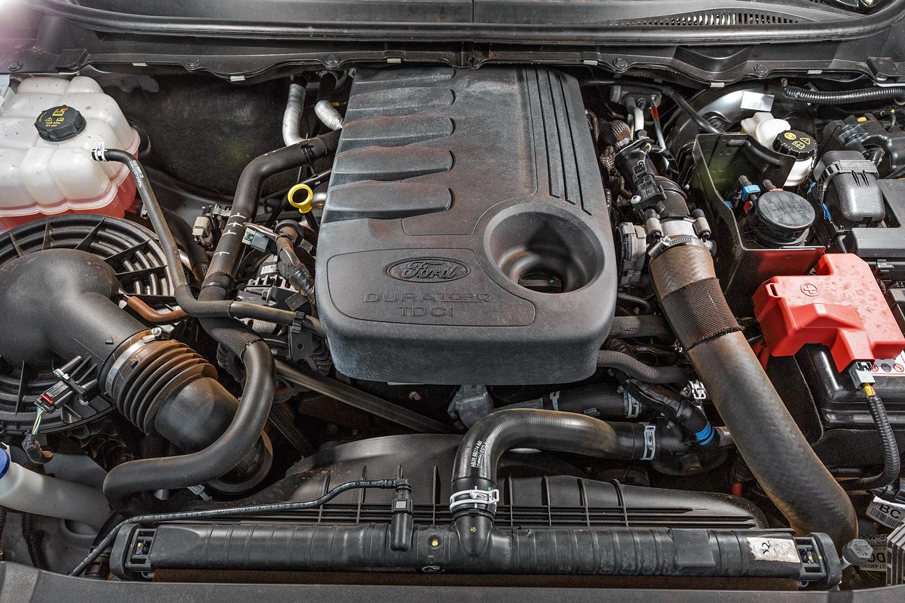 Motor de cinco cilindros proporciona 200 cv de potência
