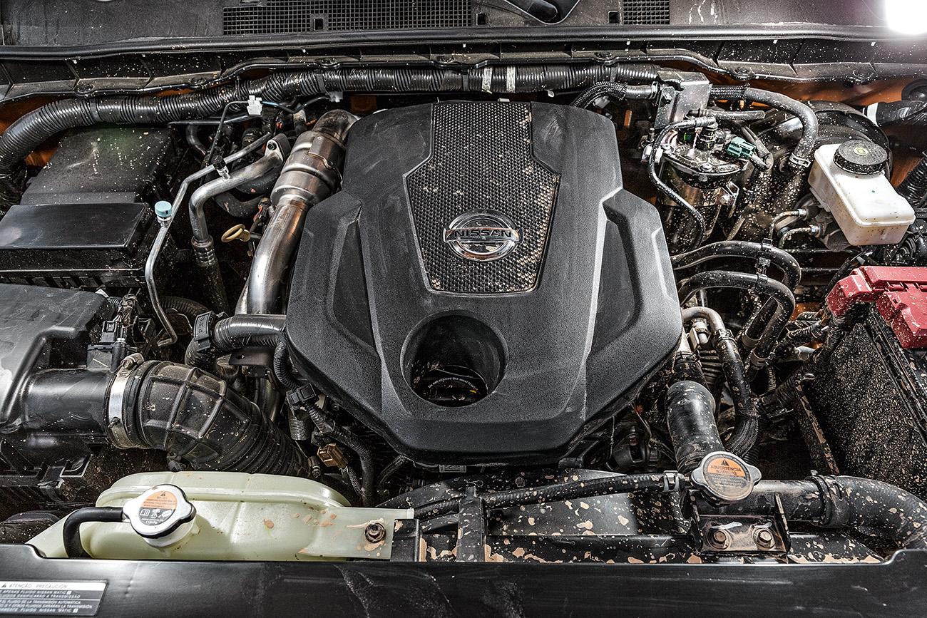 Motor 2.3 tem 190 cv e 45,9 mkgf; desenvoltura na lama é boa