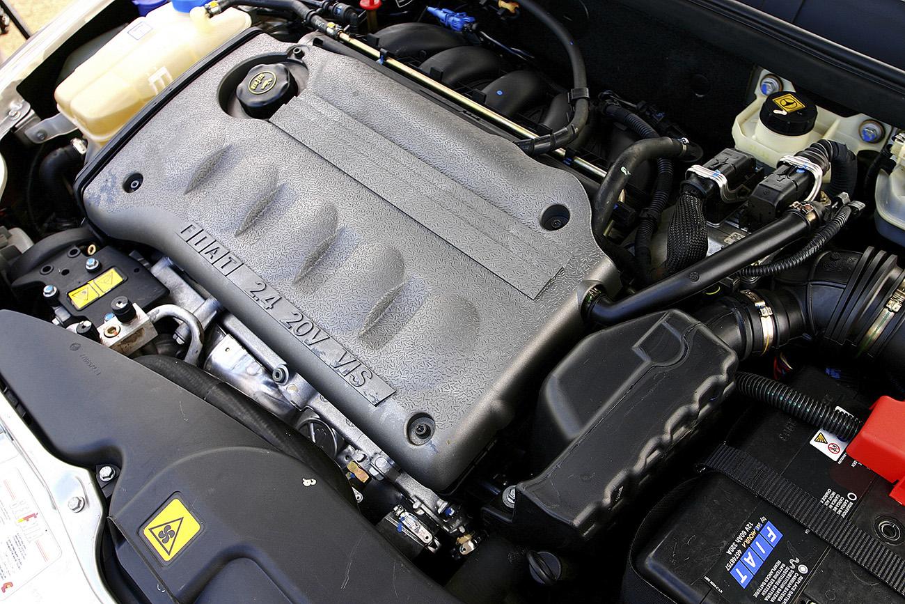 Motor fo Fiat Marea tinha cinco cilindros em linha