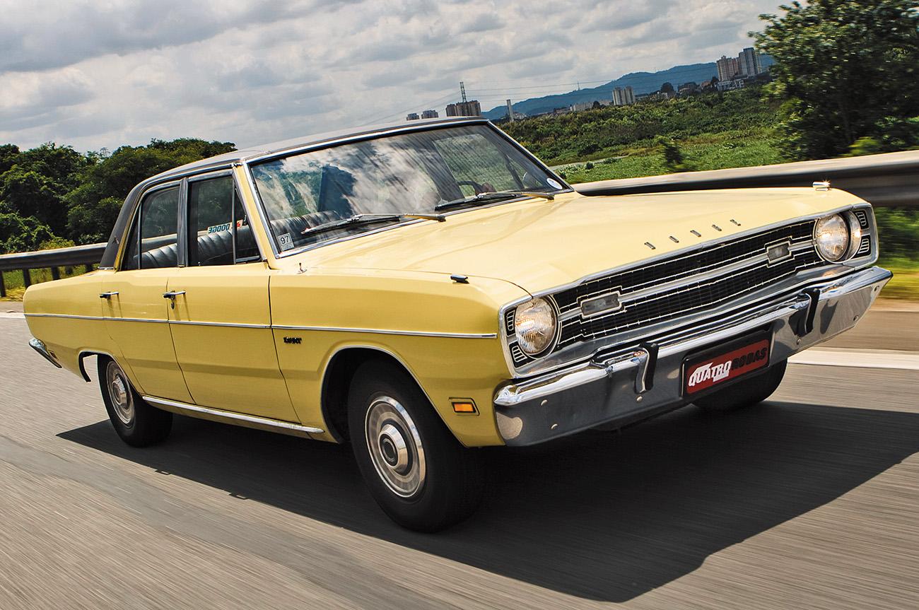 Grandes Brasileiros Dodge Dart 1970 Quatro Rodas