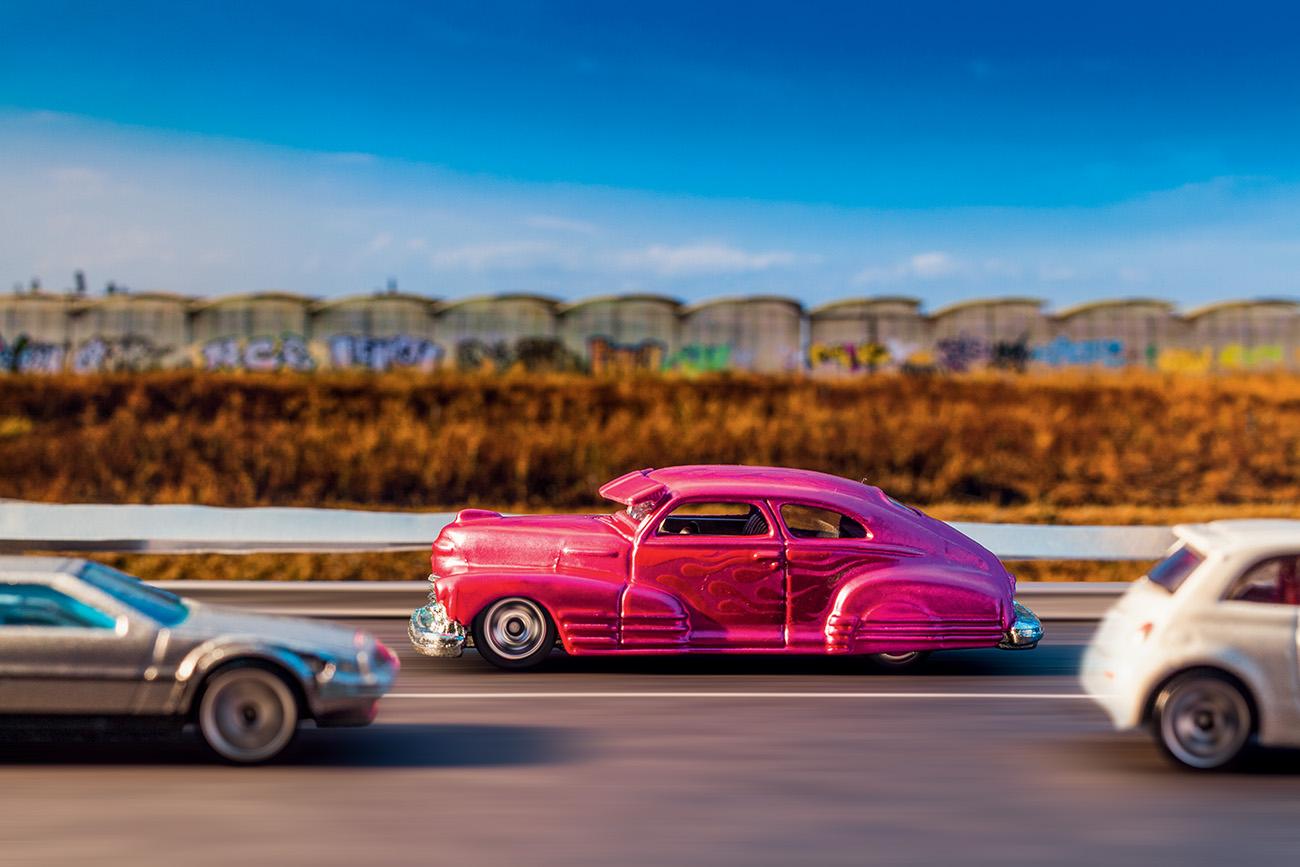 O Chevy Fleetline é da linha Cool Classics, voltada para adultos