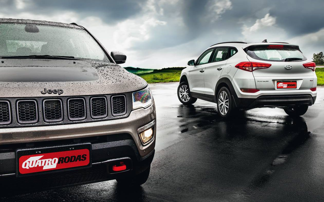 Diesel ou gasolina? Compass ou New Tucson?