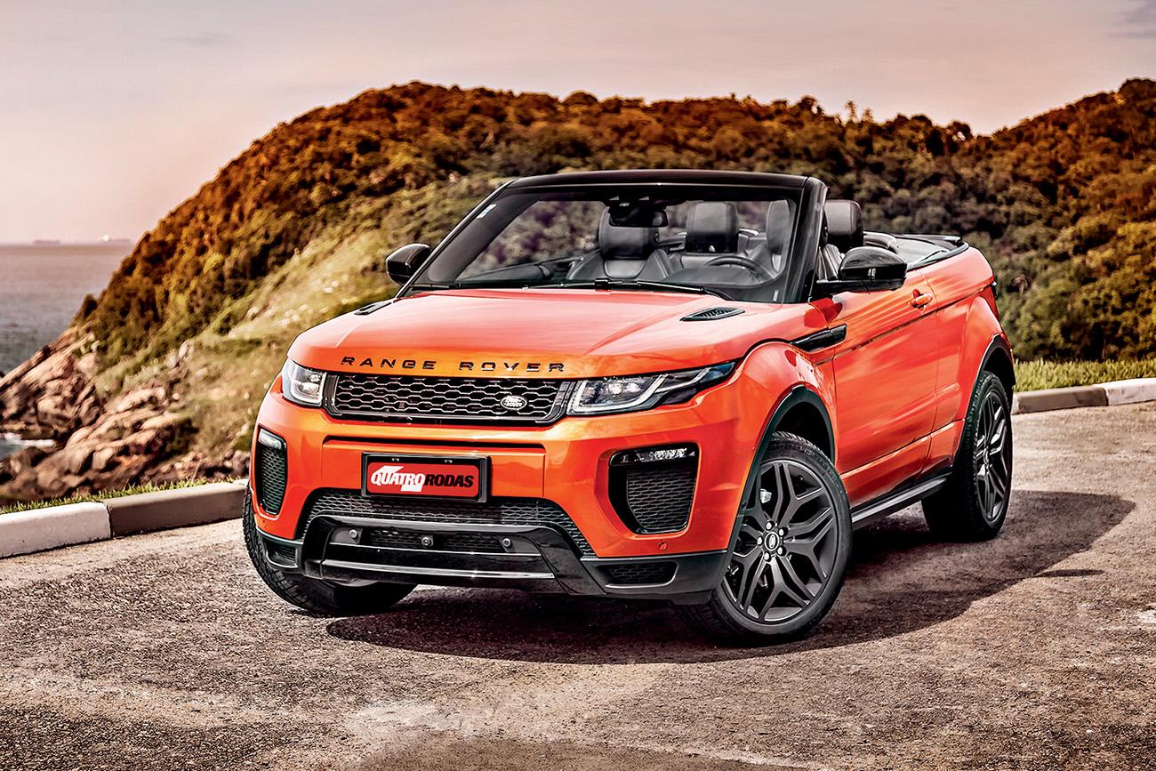 Range Rover Evoque Conversivel Para Ver E Ser Visto Quatro Rodas