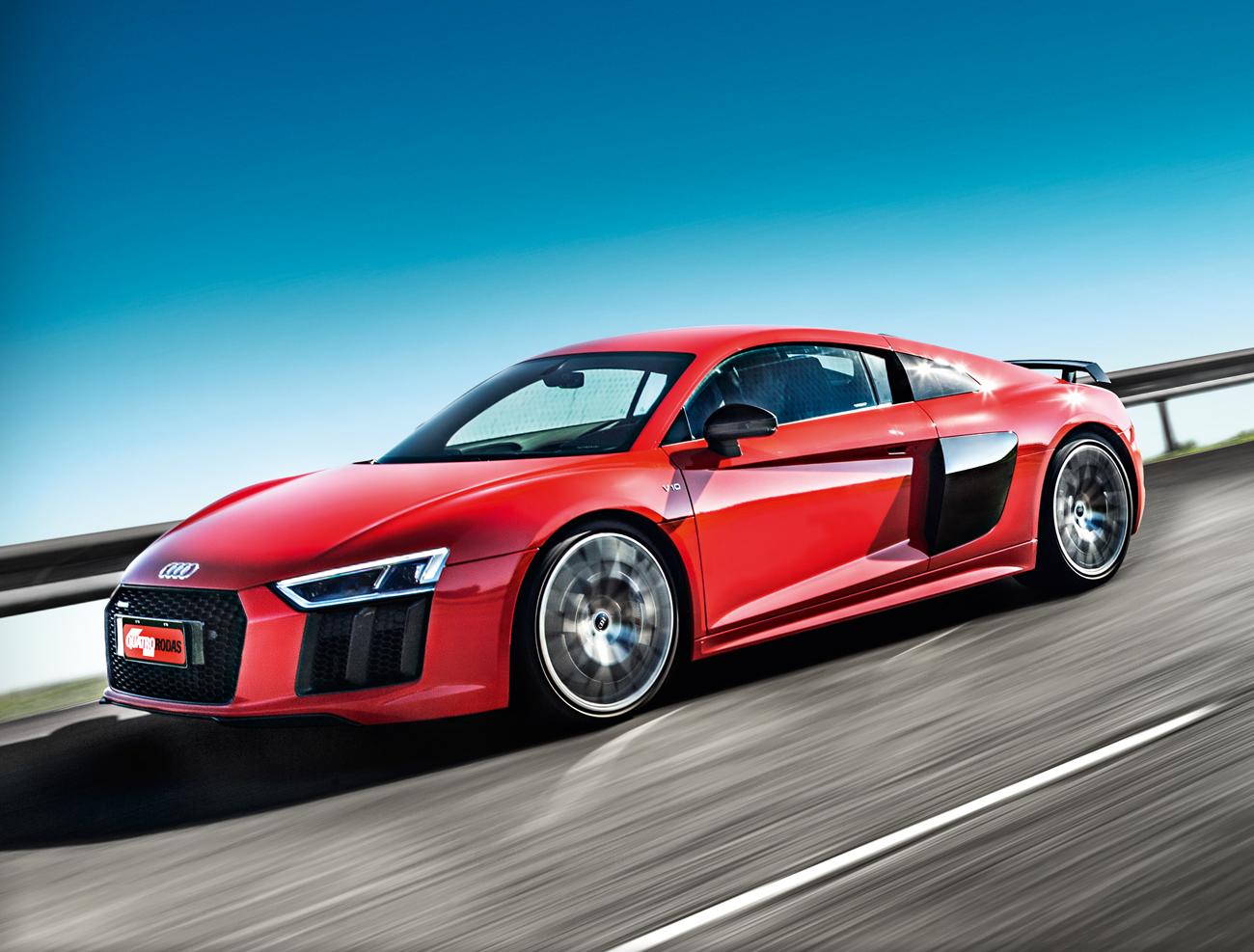 Audi R8 V10 Plus Aspiracao E Transpiracao Quatro Rodas