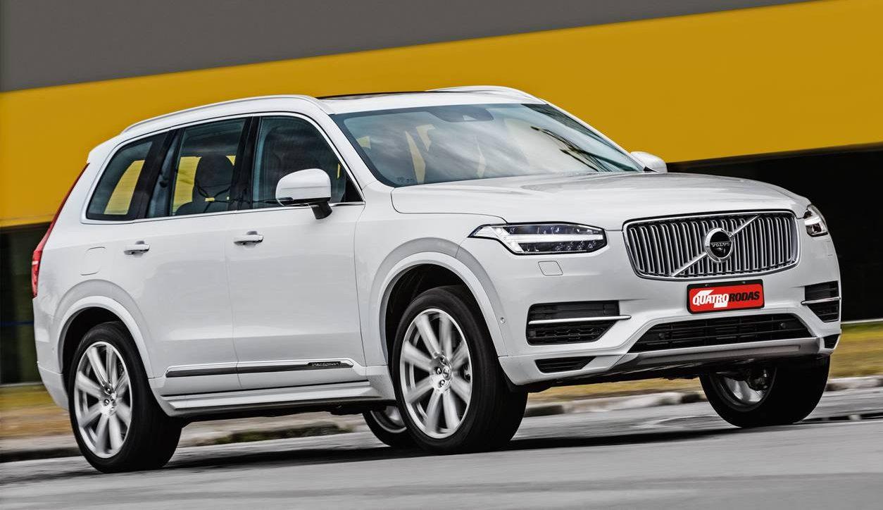 Leds em forma de T: nova marca registrada da Volvo