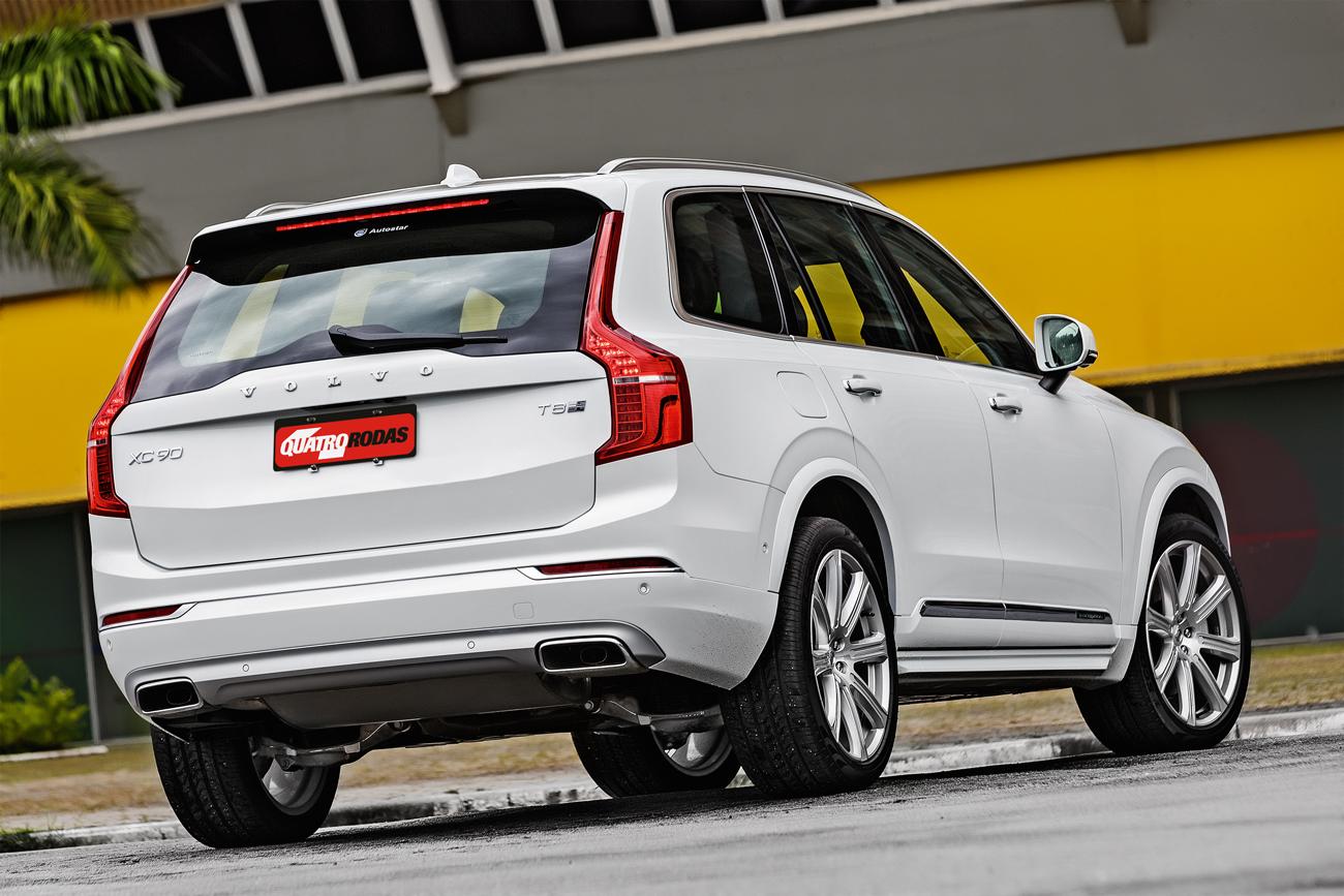 Design igual ao XC90 a gasolina