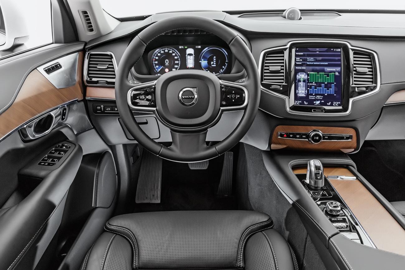 Volvo Xc90 T8 Hibrido Para Todos Os Gostos Quatro Rodas