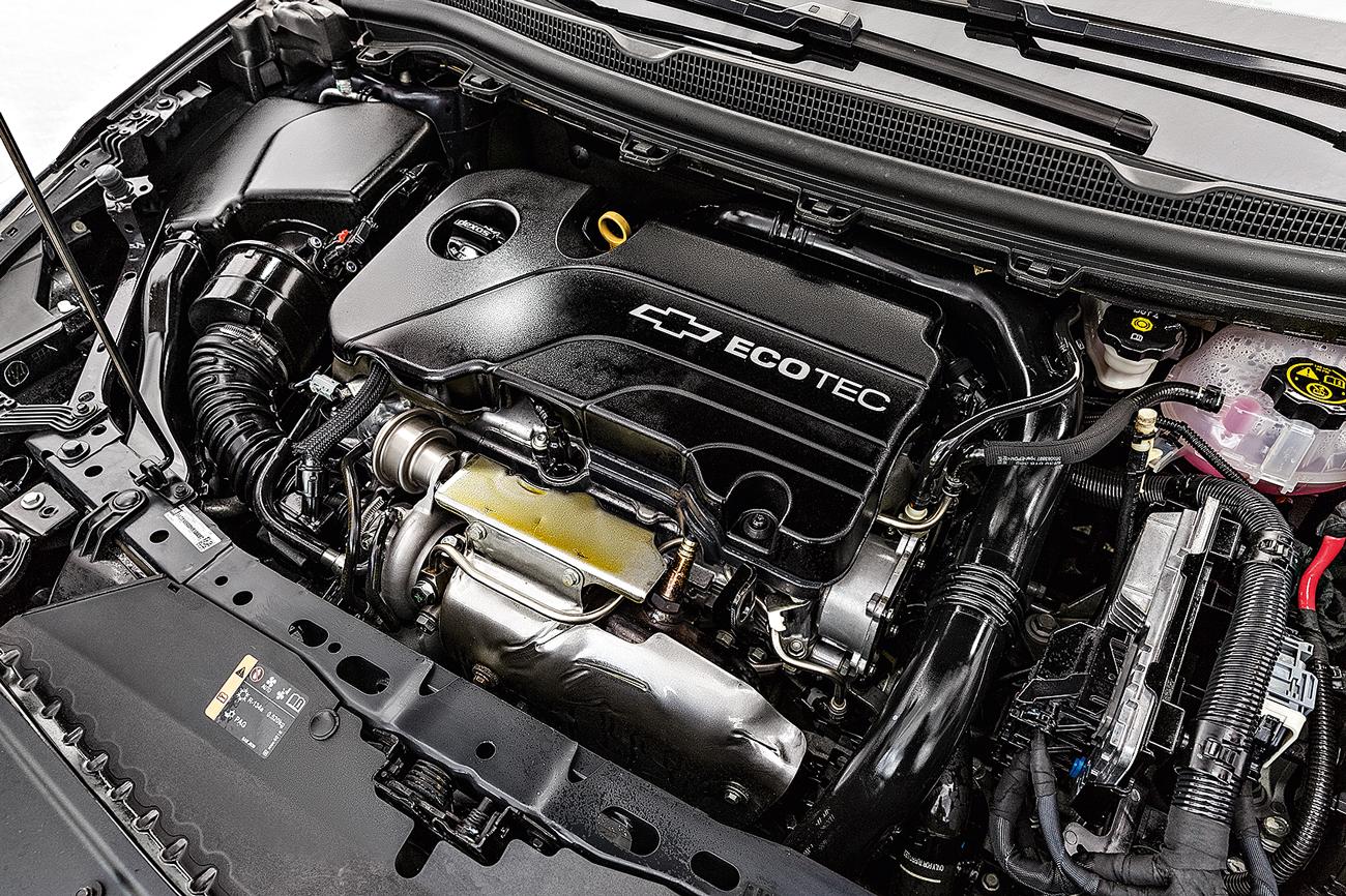 Motor 1.4 turbo conta com até 153 cv, mas o destaque é o torque: 24,5 mkgf a apenas 2.000 rpm