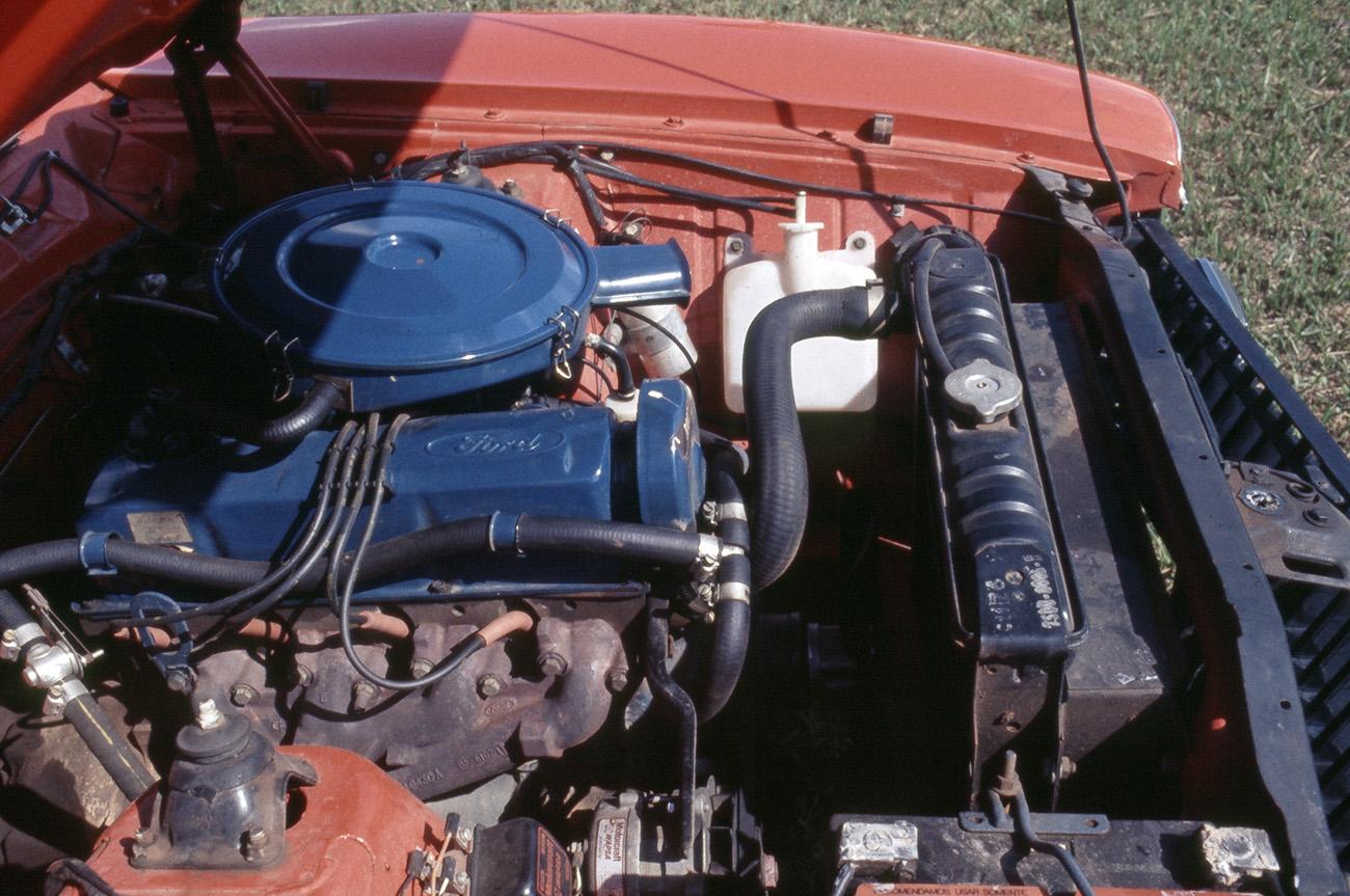 Motor 2.3 quatro cilindros do Maverick: 99 cv e 16,9 mkgf