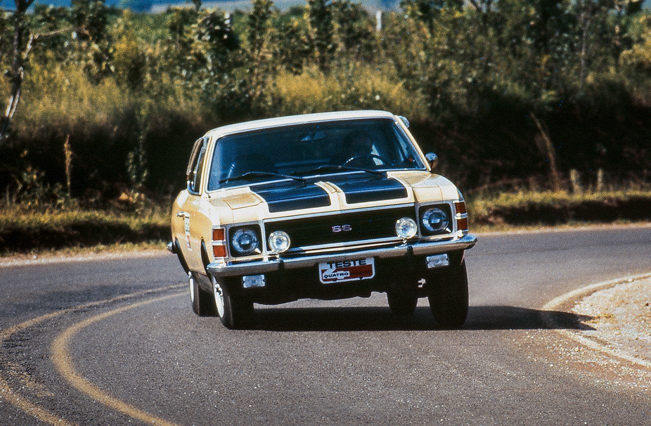 O Opala não tinha pneus radiais. Com eles, o carro ganharia em desempenho nas curvas