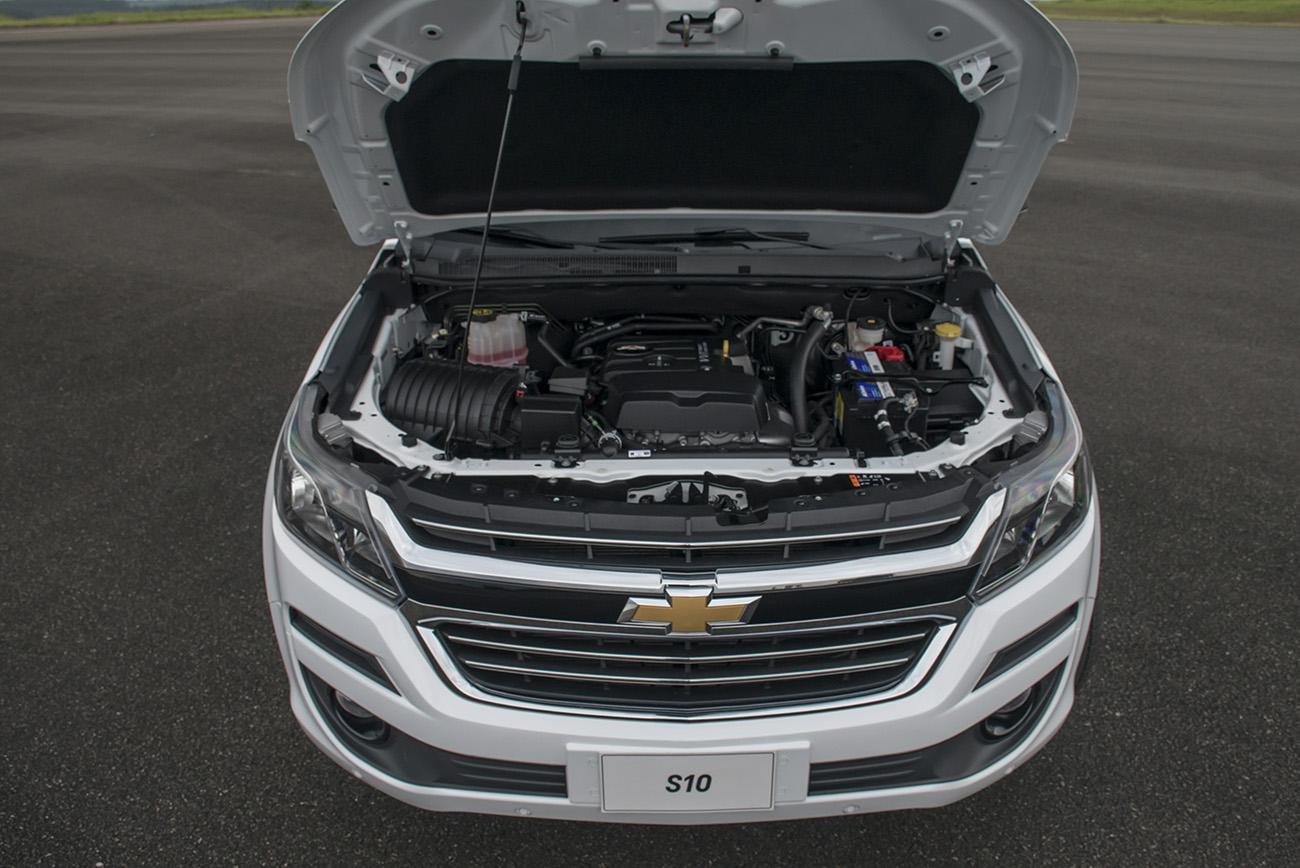 Motor 2.5 flex produz até 206 cv e 27,3 mkgf