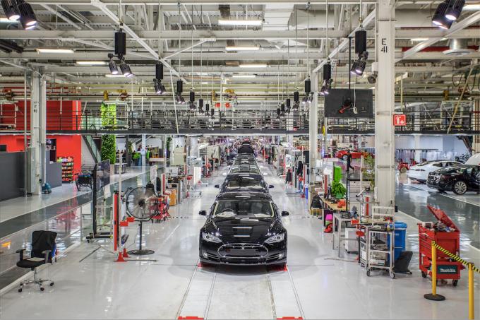 Fábrica da Tesla