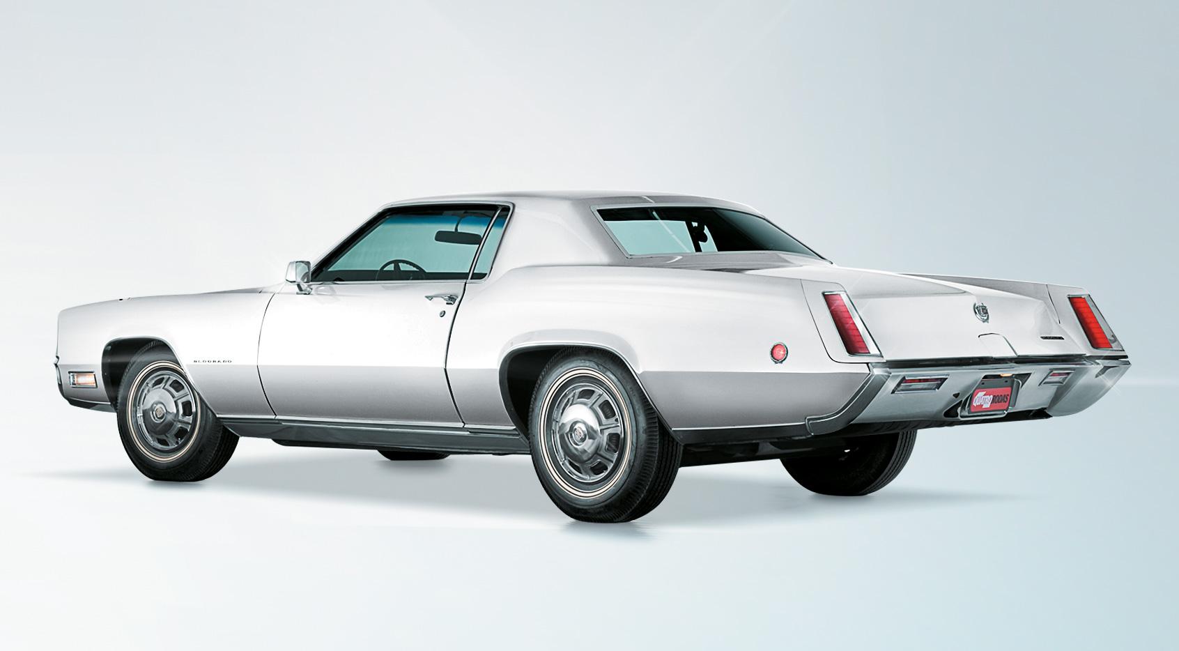 Apesar de seus 5,61 m, o Eldorado 1968 era um cupê de 2 portas
