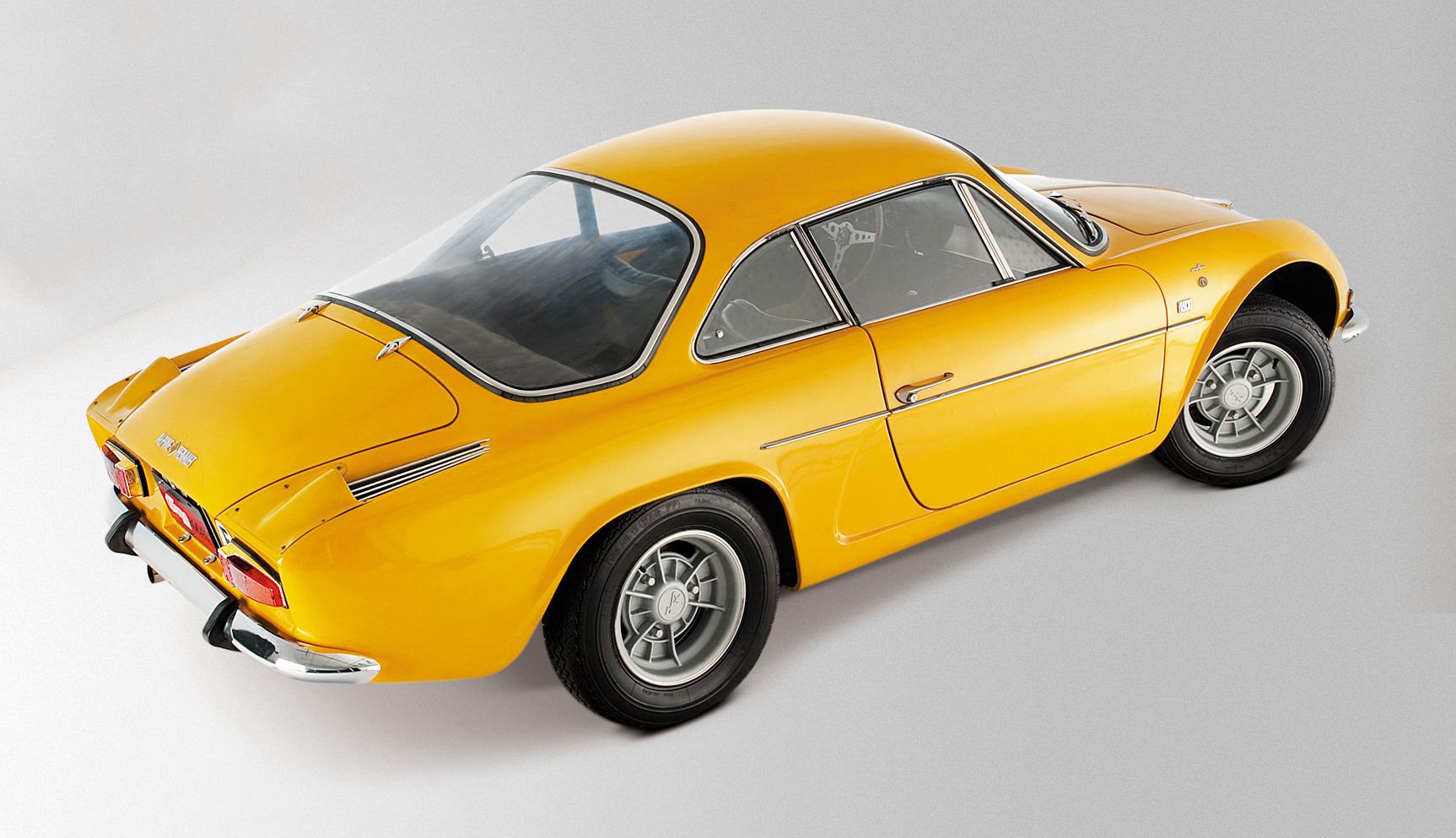 Preparado pela Alpine, o A110 era baseado na mecânica do Renault R8