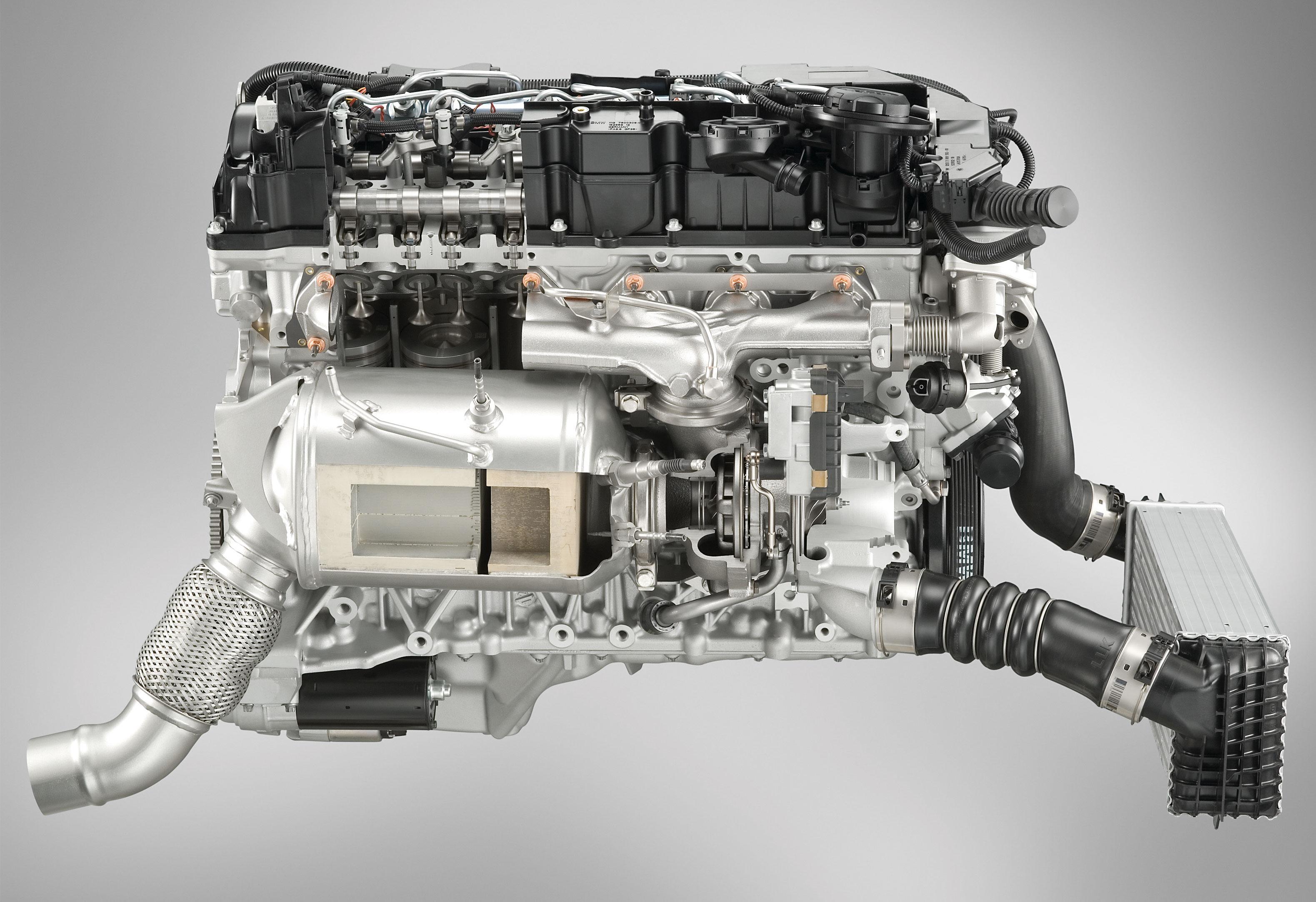 Motor BMW de seis cilindros a diesel: mais robusto - e pesado
