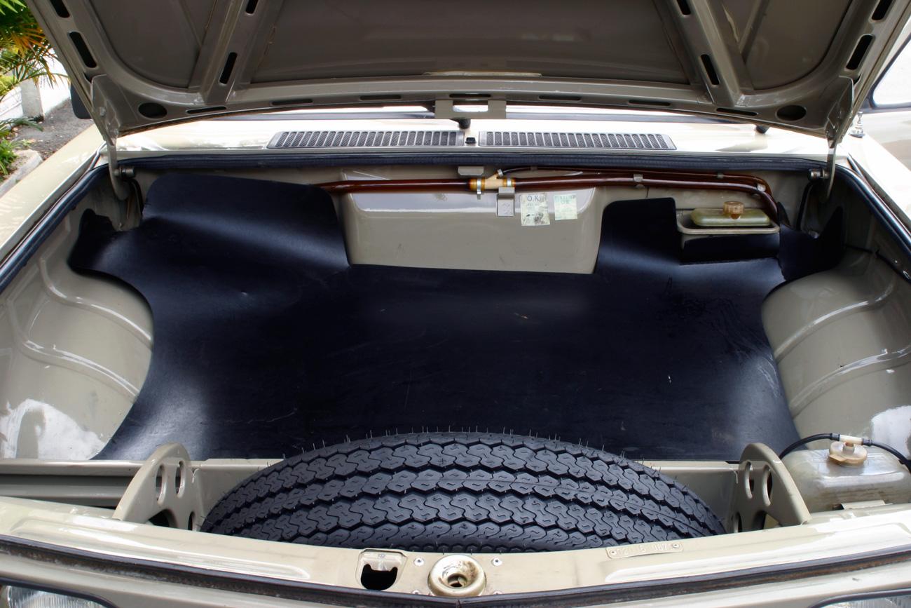 Porta-malas dianteiro é pequeno