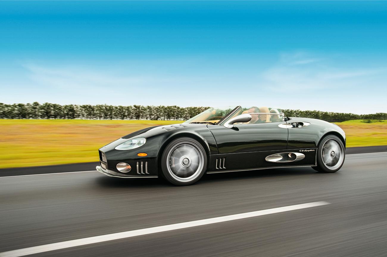Spyker C8: raridade holandesa