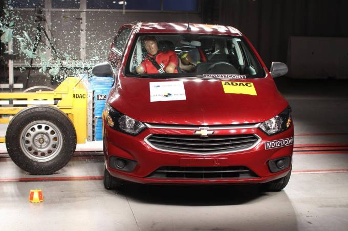 Chevrolet Onix – crash test Latin NCAP