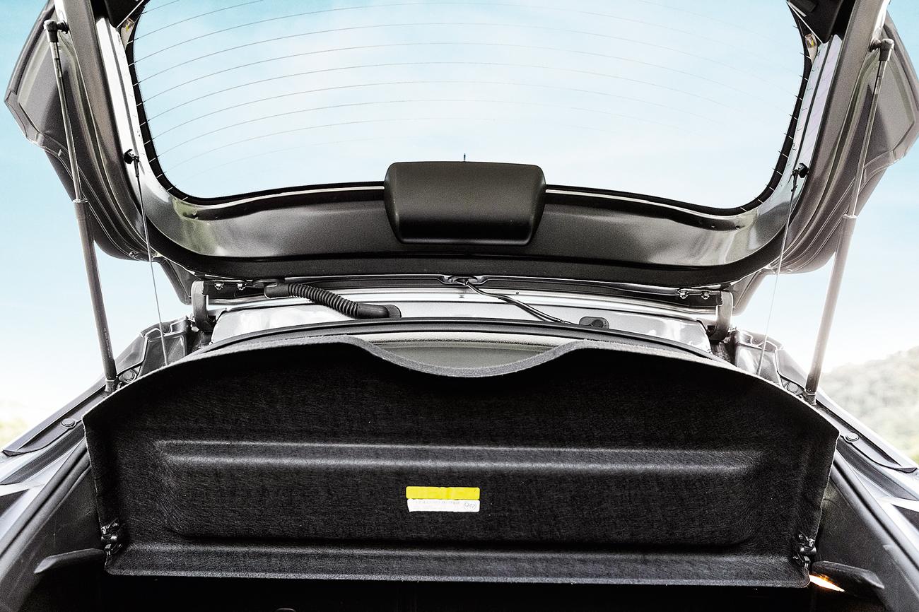 Tampa do porta-malas também emite ruídos