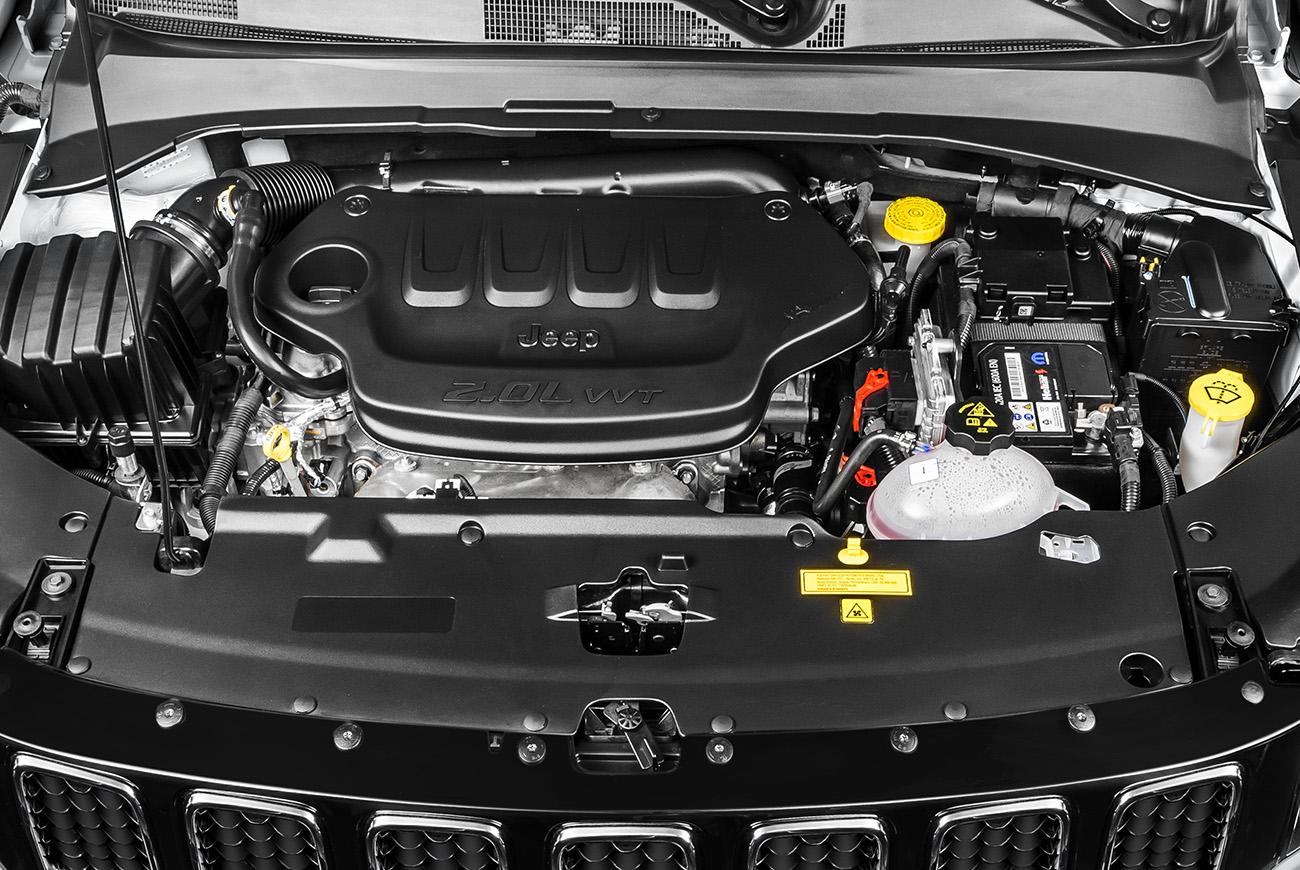 Motor 2.0 Tigershark garante um desempenho melhor que o do Renegade 1.8