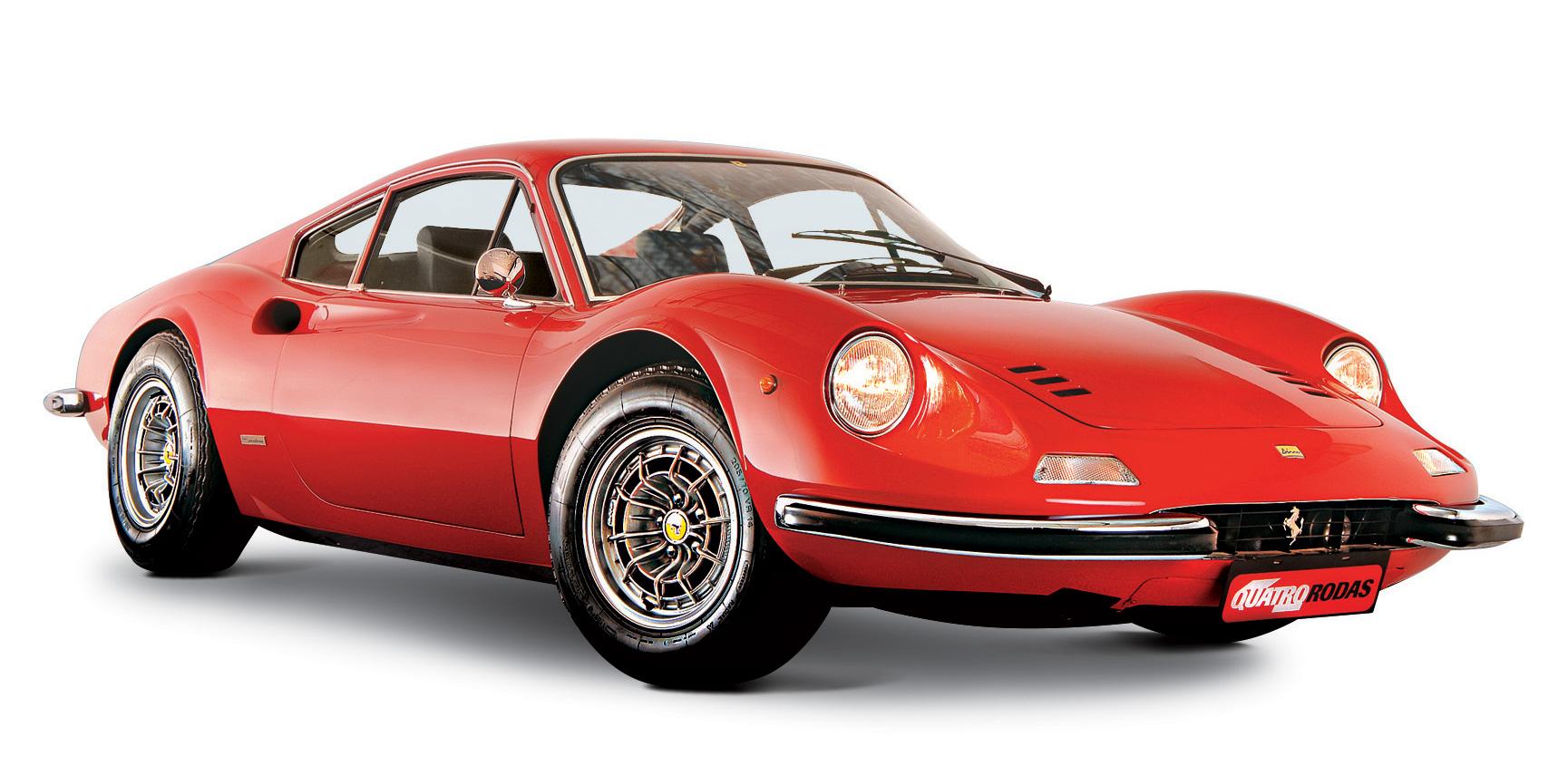 Classicos Ferrari Dino 246 Gt De Pai Para Filho Quatro Rodas