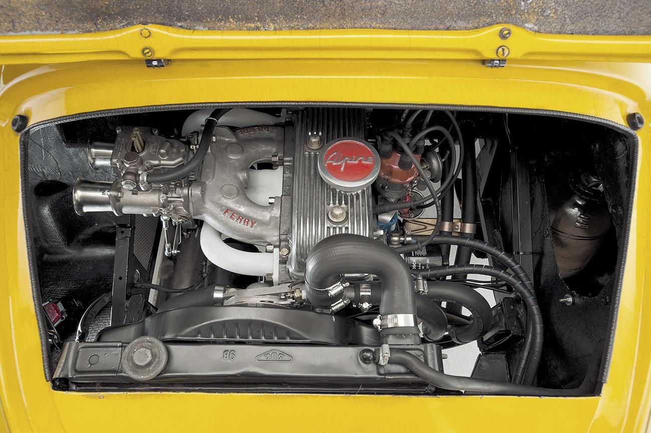 Este Alpine A110 1970 recebeu um motor de 1.300 cm3