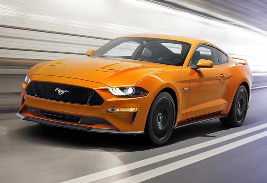 Mustang terá reestilização nos EUA