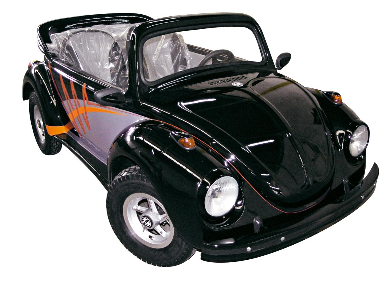 O mini Fusca é o veículo mais acessível: R$ 13.500