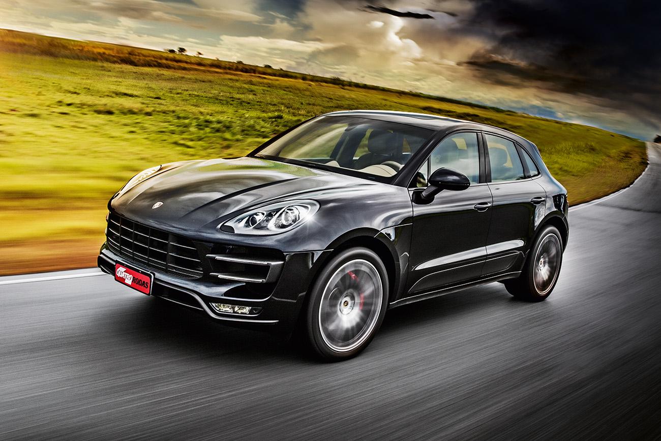 Porsche Macan Turbo Na Moda E Com Estilo Quatro Rodas