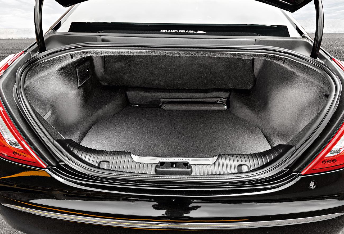 Porta-malas acomoda 478 litros