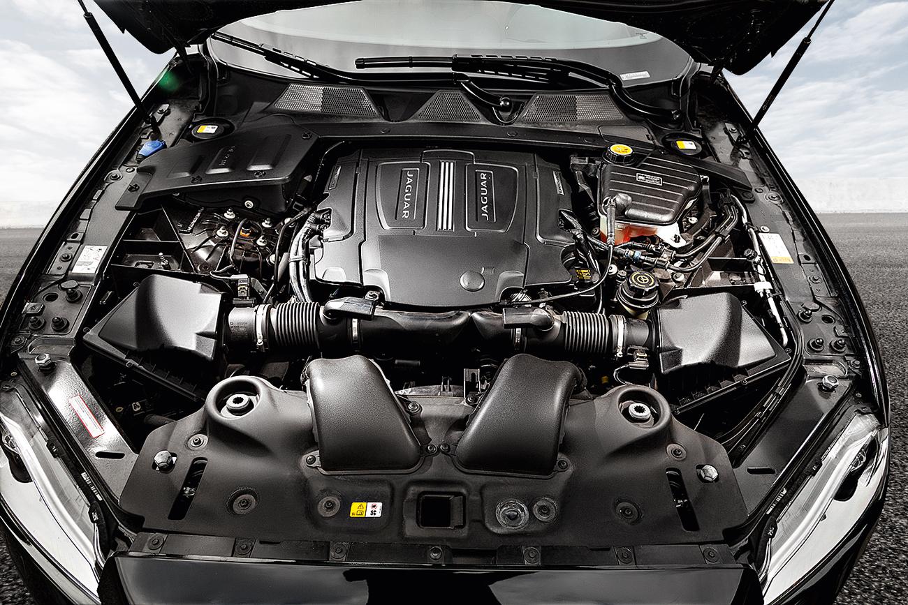 O V8 5.0 produz 510 cv e 63,8 mkgf