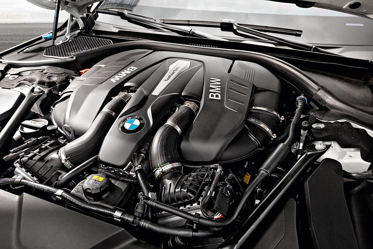 Motor V8 turbo entrega 66,3 mkgf de torque a partir de 1.800 rpm