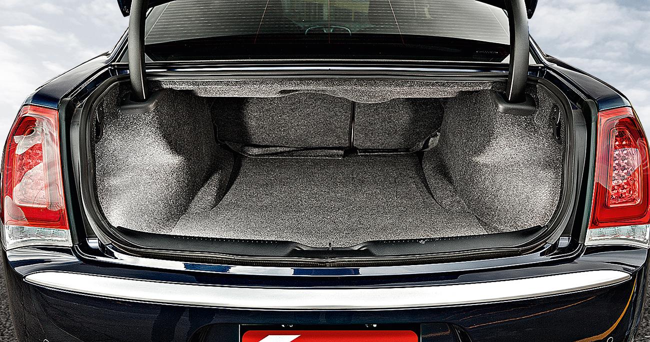 Porta-malas leva 500 litros de bagagem
