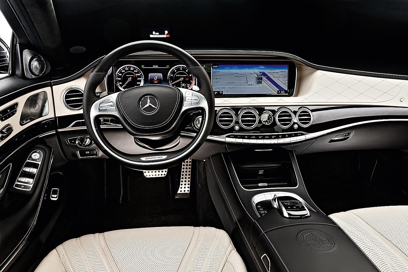 Acabamento do Mercedes é o melhor