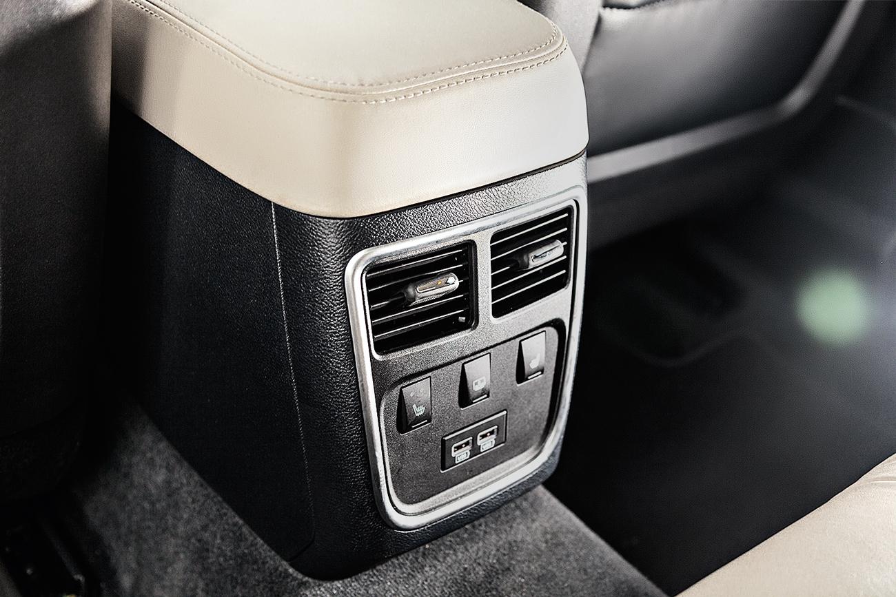Ar-condicionado tem saídas exclusivas para o banco traseiro